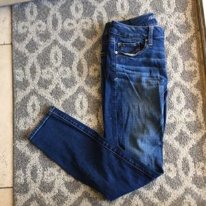 American eagle skinny jeans (short)